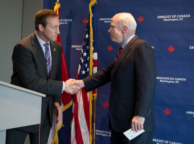 John McCain receives honourary doctorate