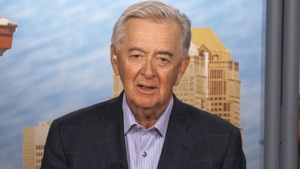 Preston Manning, former leader of the Reform Party, appears on CTV's Power Play in Calgary on Tuesday, June 18, 2013.
