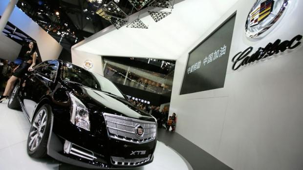 Cadillac plant China