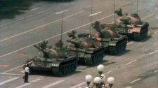 Cangan Blvd., Beijing, Tiananmen Square, 1989