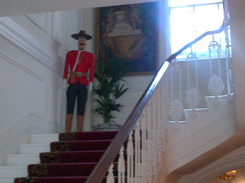 The historic Macdonald House in central London is seen in this photo obtained by CTV News.