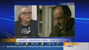 Canada AM: Gandolfini a shy actor