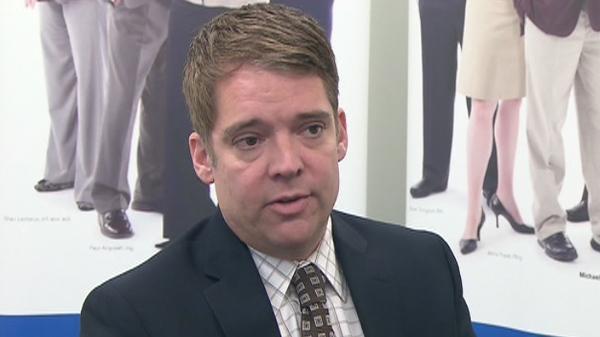 Joe Jamieson from the Ontario College of Teachers speaks with CTV News on Monday, April 11, 2011.