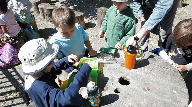 Toronto has its first outdoor kindergarten class