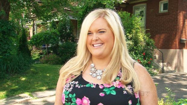Karyn Johnson, a Canadian plus size model