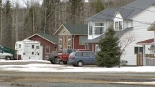 A residential neighbourhood in Prince George, B.C. is seen.