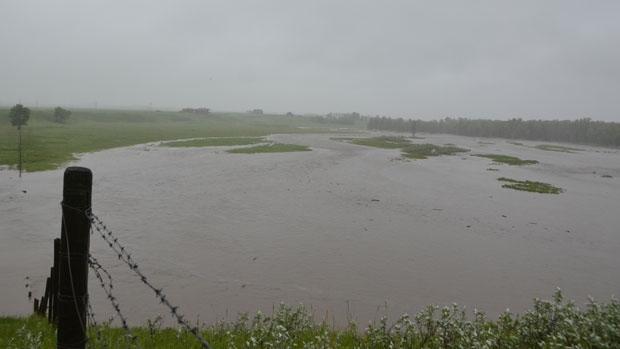 Flooding near Black Diamond