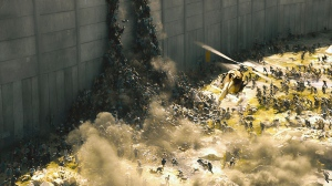 A scene from Paramount Pictures Canada's 'World War Z'