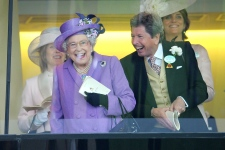 Queen Elizabeth II's horse wins Gold Cup