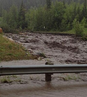 Canmore flooding