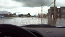 Heavy rains cause flooding in High River, Alberta