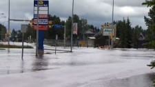 High River, flood