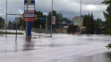 High River, flood