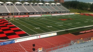 Alumni Stadium at the University of Guelph will host some events during the 2017 World Dwarf Games. (Phil Molto / CTV Kitchener)