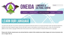 Oneida language