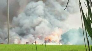 CTV Ottawa: Fireworks factory explodes