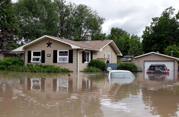 High River, Alberta flood