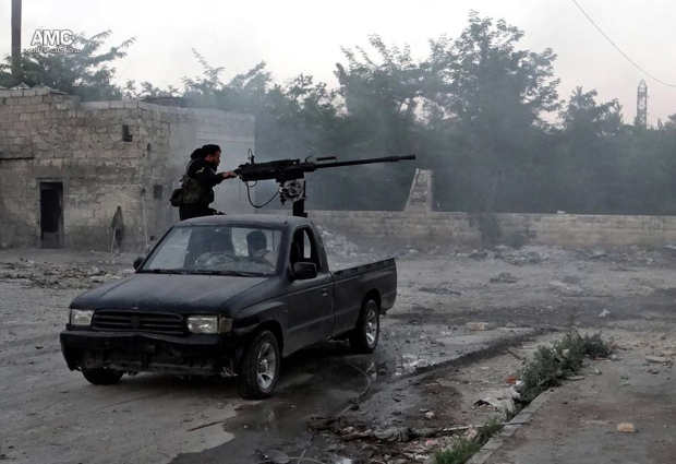 Syria rebels says they have weapons