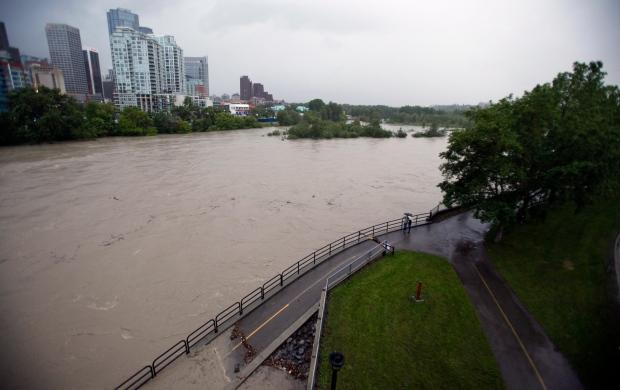 Calgary flooded