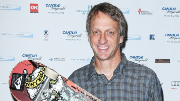 Tony Hawk donating 1st skateboard to National Museum of ...