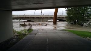 Bow River bike path