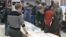 Hundreds of residents attended public consultations on Waterloo Region's rapid transit plans.
