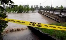 Calgary Zoo flooded