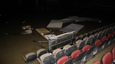 Saddledome flooding