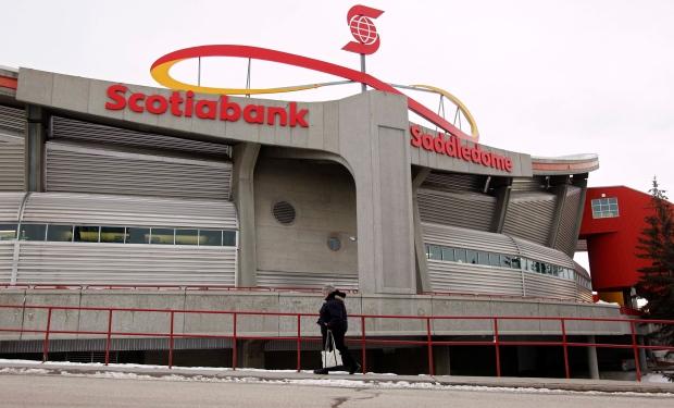 Calgary Saddledome: Before