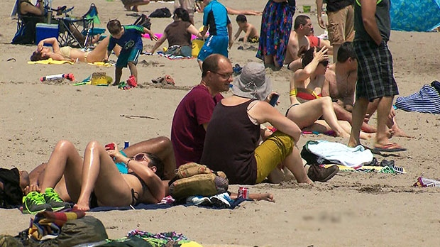 Hamilton under late September heat warning