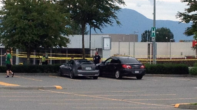 Police are investigating following a shooting in the 32600-block of Abbotsford. June 23, 2013. (Twitter/@inchilliwack)