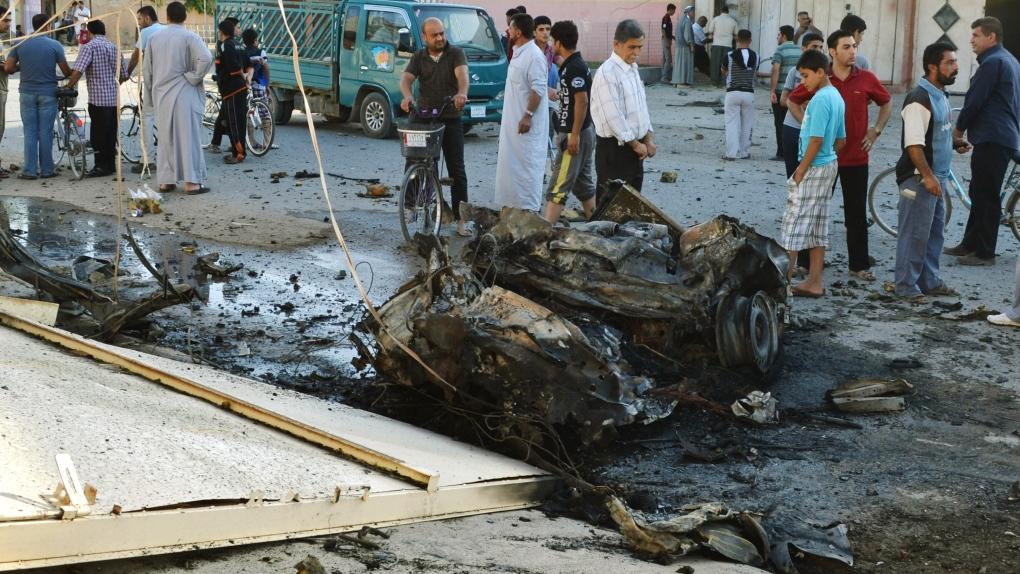 Northern Iraq suicide bombing