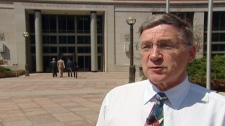 Regional Chair Ken Seiling speaks with CTV News on Wednesday, April 13, 2011.