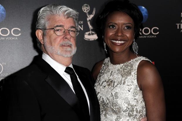 George Lucas marries Mellody Hobson