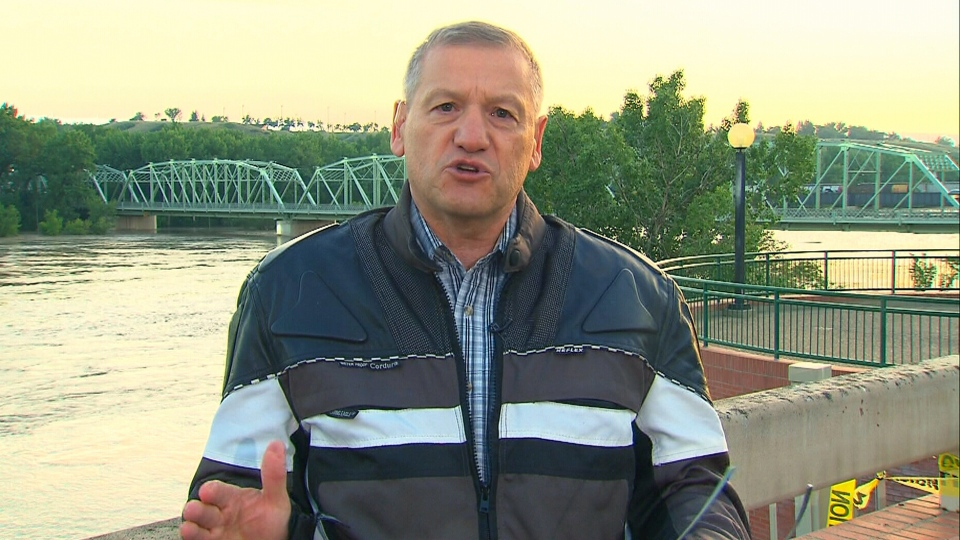 Medicine Hat, Alta. Mayor Norm Boucher appears on Canada AM, Monday, June 24, 2013.