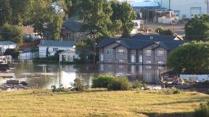Flooding Medicine Hat Alberta floods
