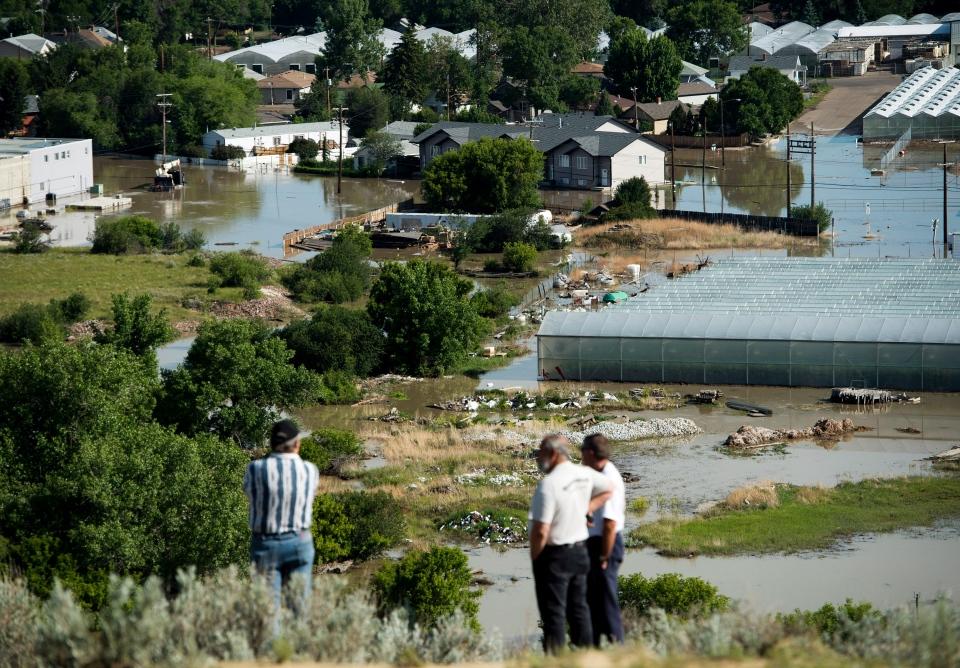 Flood waters begins to recede in Medicine Hat