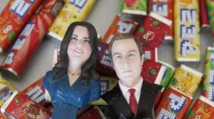 Kate and Will Pez dispenser
