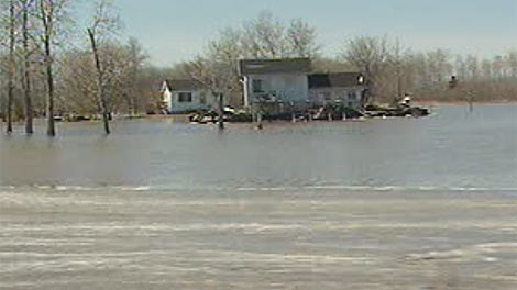 Many homes on the Peguis First Nation have had access cut off due to flooding, said officials.