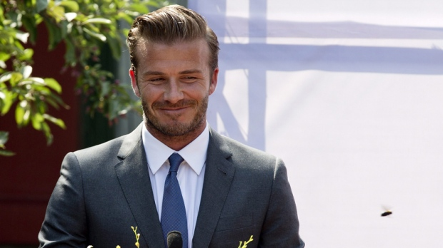 David Beckham should be next James Bond: wife