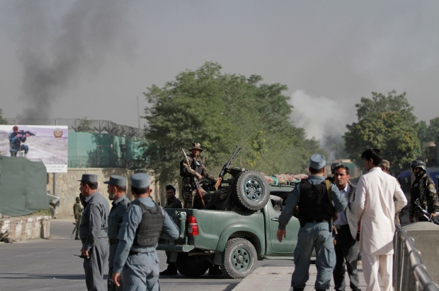 Afghan presidential palace attacked