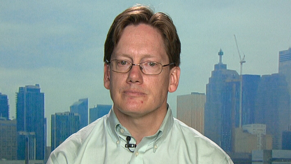 Andrew Parkin appears on CTV News Channel, Tuesday, June 25, 2013.