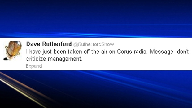 Rutherford show tweet from Tuesday, June 25, 2013