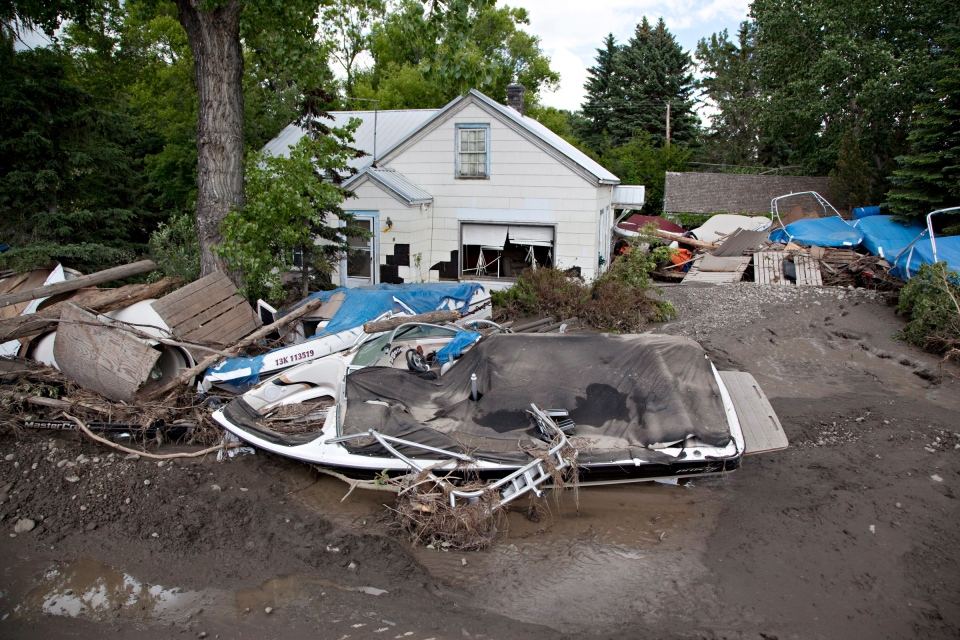 High River devastated by floods