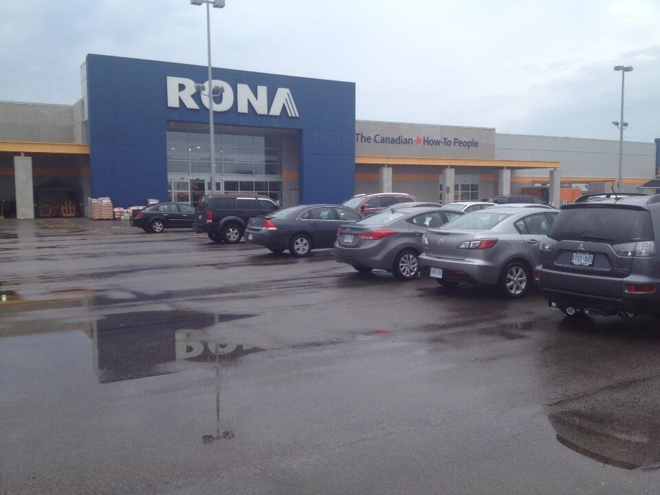 The Rona store on Commissioners Road in the Pond Mills area of London, Ont. is seen on Thursday, June 27, 2013. (Sean Irvine / CTV London)
