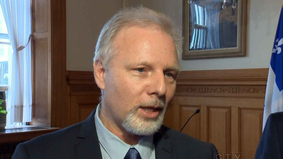 Jean-Francois Lisee, Quebec minister responsible for Montreal, says people in the city should be able to speak in any language on their lunch breaks. (CTV Montreal)