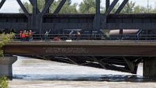 Calgary bridge failure caused by flooding: CP