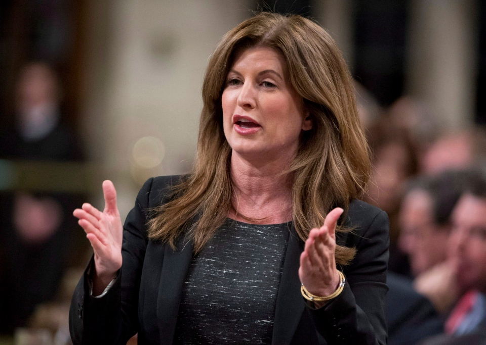 Minister for the Status of Women Rona Ambrose