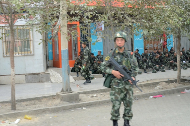 Violence rises in China's far west