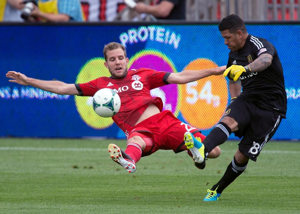 Toronto FC play Real Salt Lake